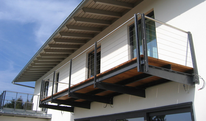 stahl metallbau gmbh walter schmid balkone aus pfarrkirchen. Black Bedroom Furniture Sets. Home Design Ideas